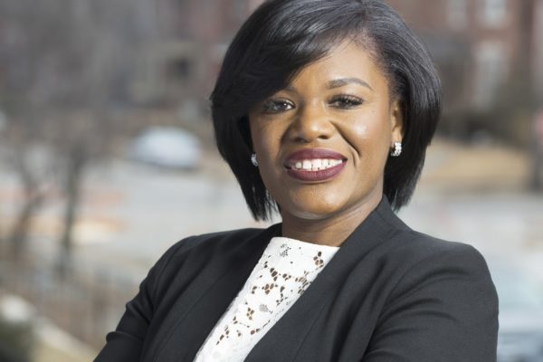Democratic candidate for US Congress Cori Bush